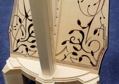 Fianna Art Deco Leverharp