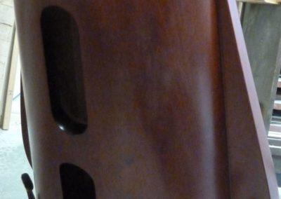 "DAMAGE TO A SOUNDBOX OF A BRAND NEW CONCERT HARP ""SALVI"""