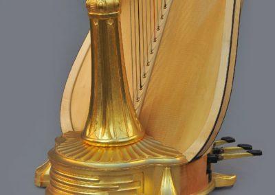 Art Nouveau Concert Harp